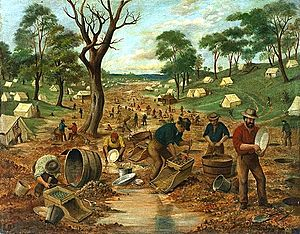 An Australian Gold Diggings