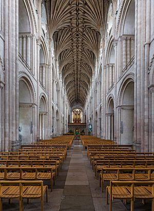 Norwich Cathedral Nave 1, Norfolk, UK - Diliff