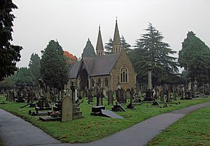 The Chapel, Teddington Cemetery, London